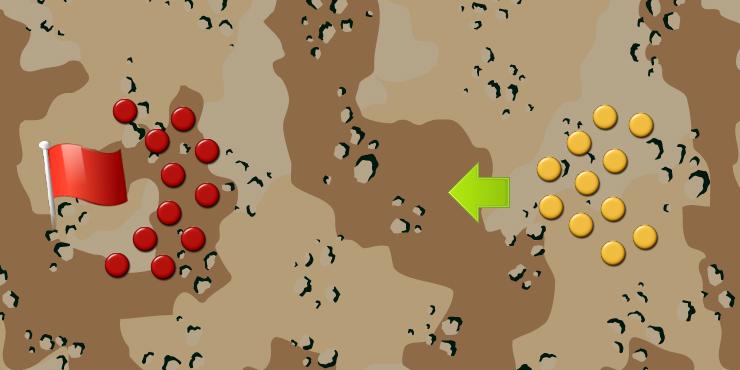 攻防戦 : サバイバルゲーム バリ...